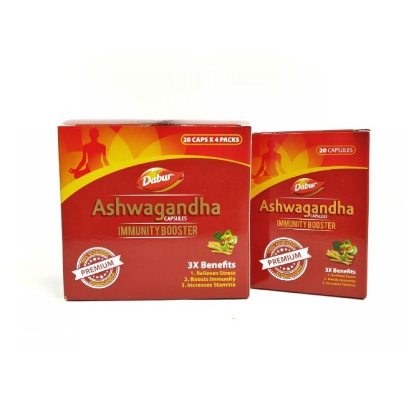 Ashwagandha Dabur 20 Cap