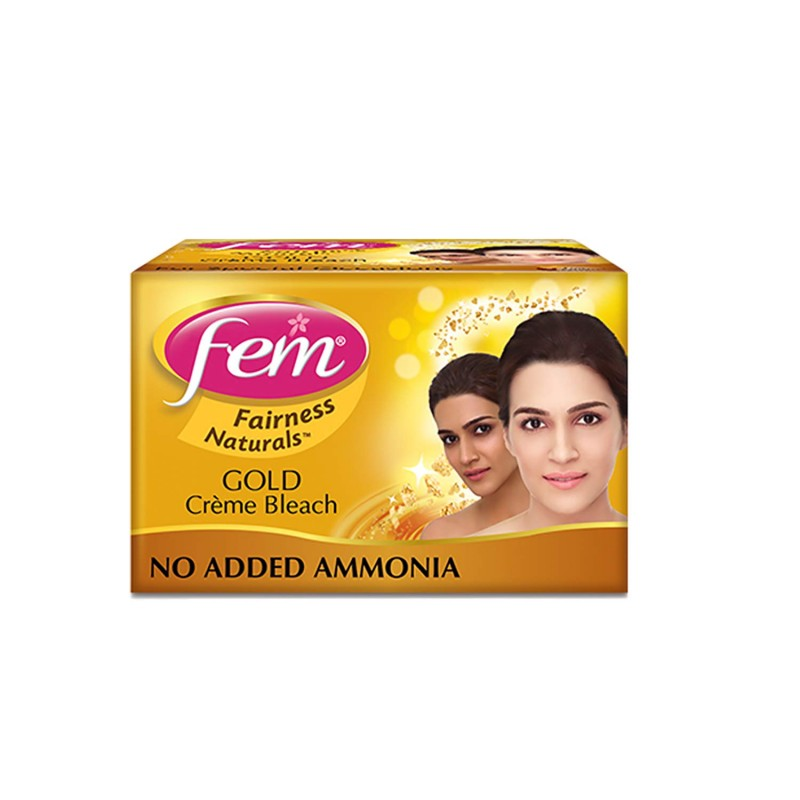 Fem Bleach Creme - Gold 24gm
