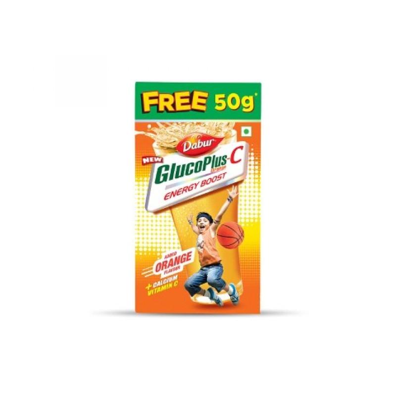 Dabur GlucoPlus-C Orange 250gm