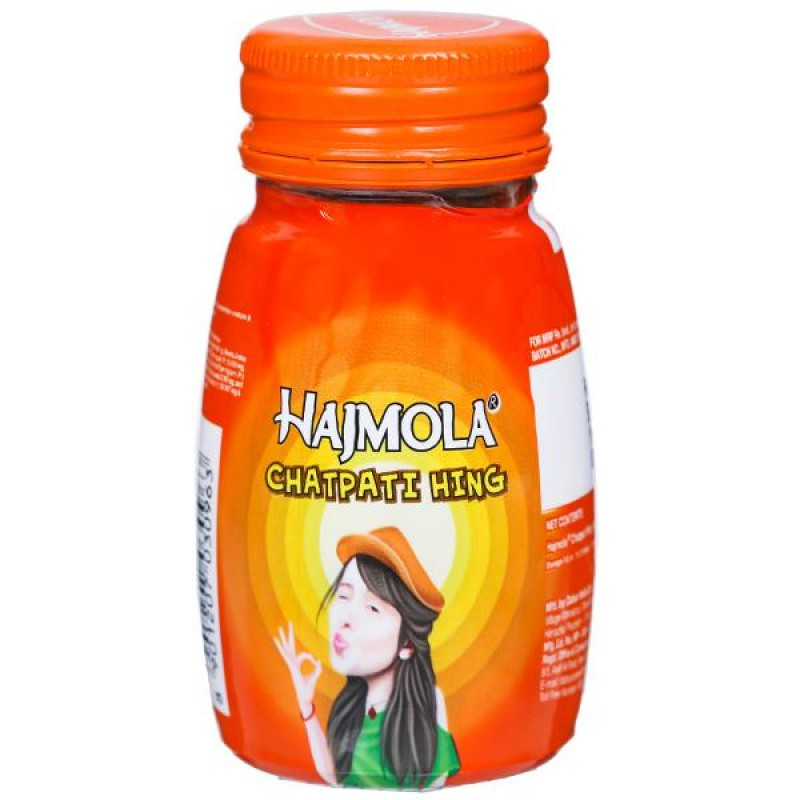 Hajmola Chatpati Hing Dabur 20sachet - 4tableat each
