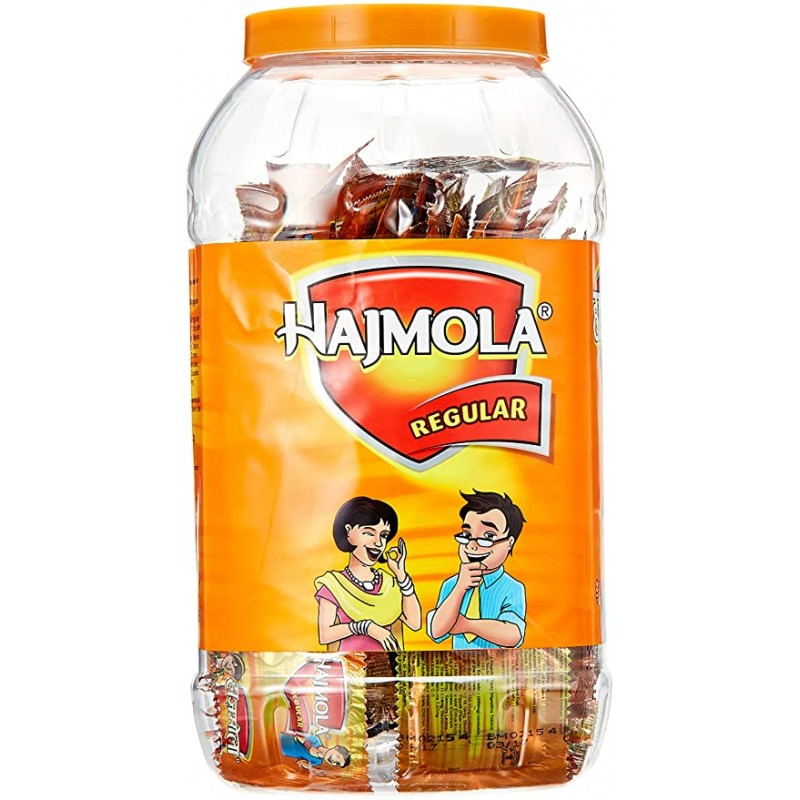Hajmola Regular Dabur Jar 160sachet