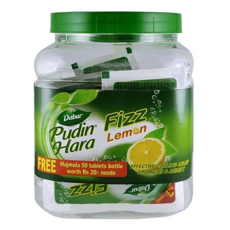 Pudin Hara Lemon Fizz Dabur 20*5gm Jar