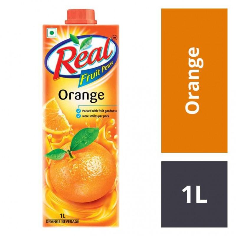 Real Juices - Fruit Power Dabur  Orange 1L