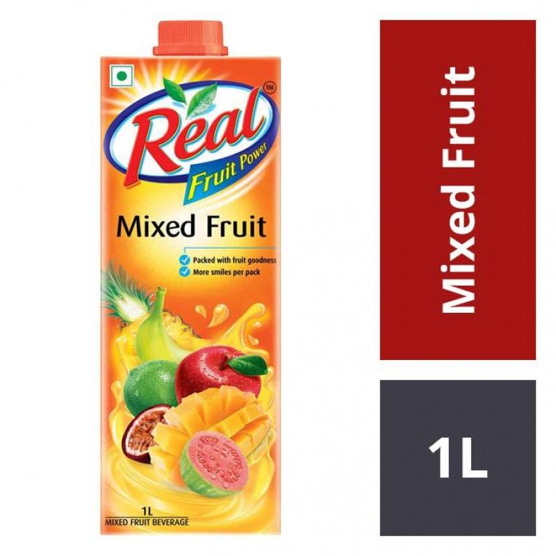 Real Juices - Fruit Power Dabur  Mixed Fruits 1L