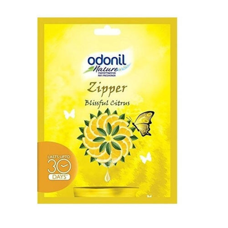 Odonil Zipper Citrus Pouch 10gm ( Pack of 6 )