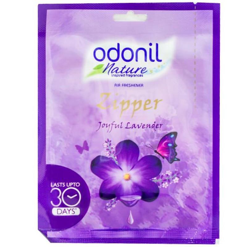 Odonil Zipper Lavender Pouch 10gm ( Pack of 6 )