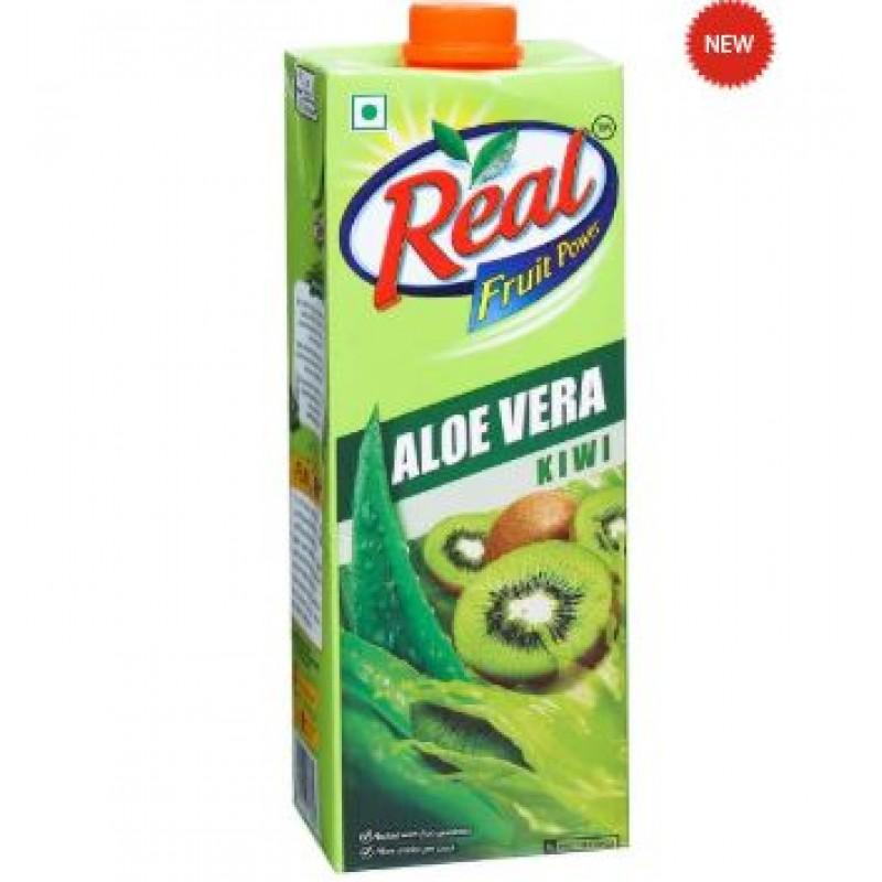 Real Juices - Fruit Power Dabur  Aloe+Kiwi 1L