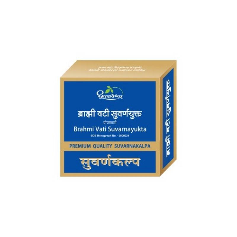 Brahmi Vati Suvarnyukta PRM Dhootapapeshware 10Tab