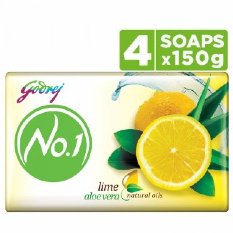 No.1 Soap Lime 4*150gm