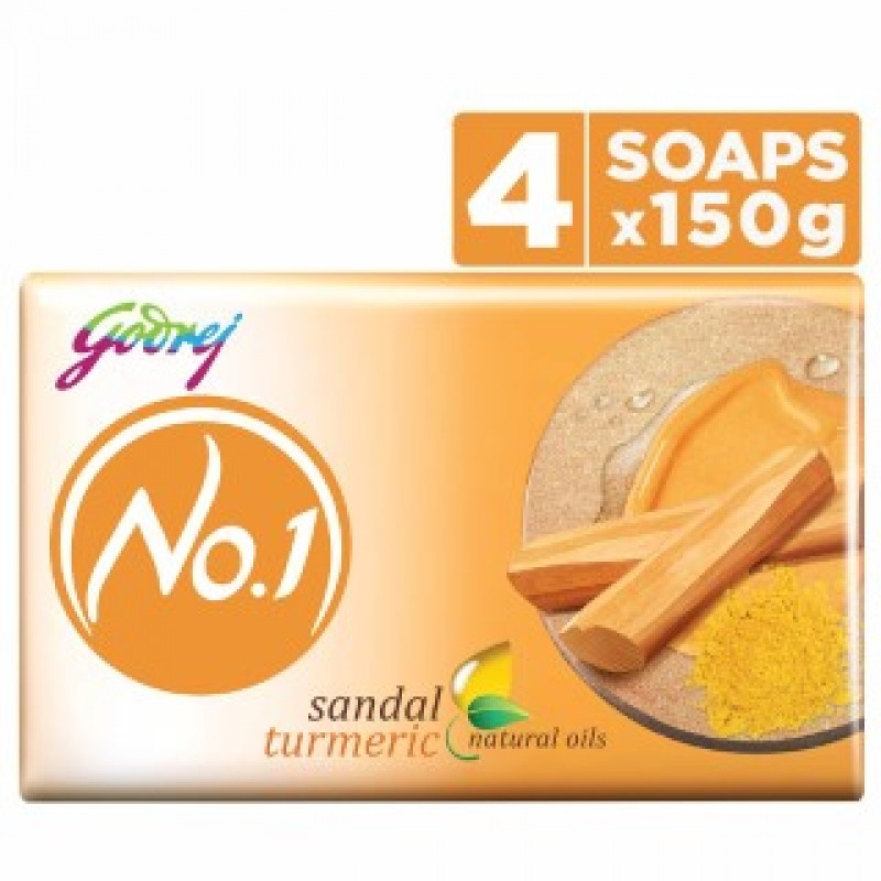 No.1 Soap Sandal 4*150gm