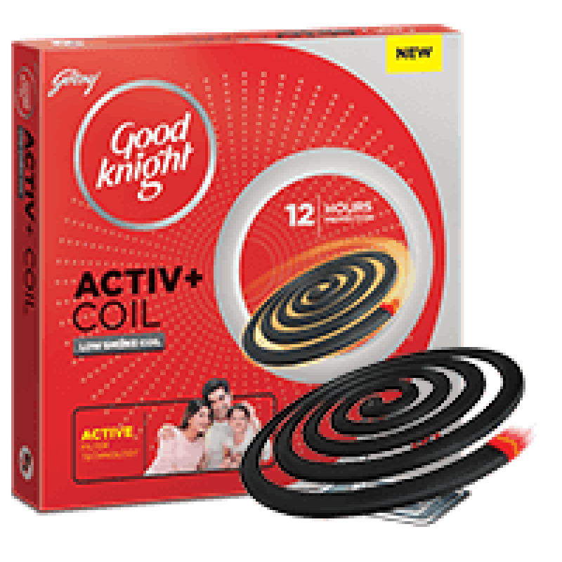 Godrej Good knight Activ+ Low Smoke Coil