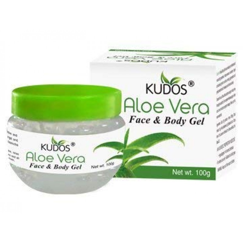 Aloe Vera Face & Body Gel Kudos 100gm