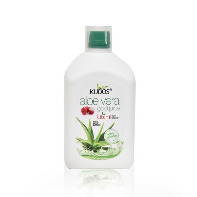 Aloevera Litchi Juice Kudos 1L