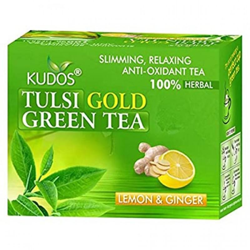 Green Tea Lemon Ginger Kudos 25 Satchets