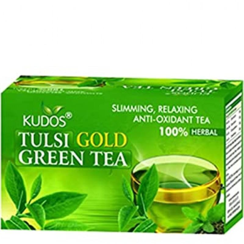 Green Tea Tulsi Gold Kudos 25 Satchets