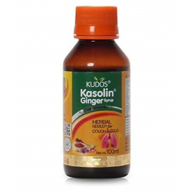 Kasolin Ginger Cough Syrup 100 ml