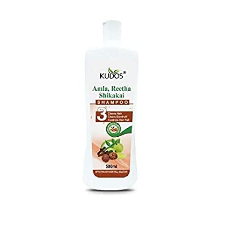 Amla Reetha and Shikakai Shampoo Kudos 500ml