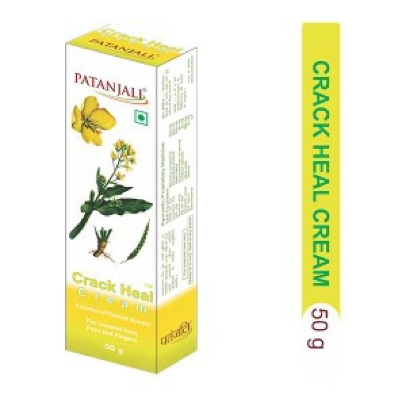 Crack Heal Cream Patanjali 50gm