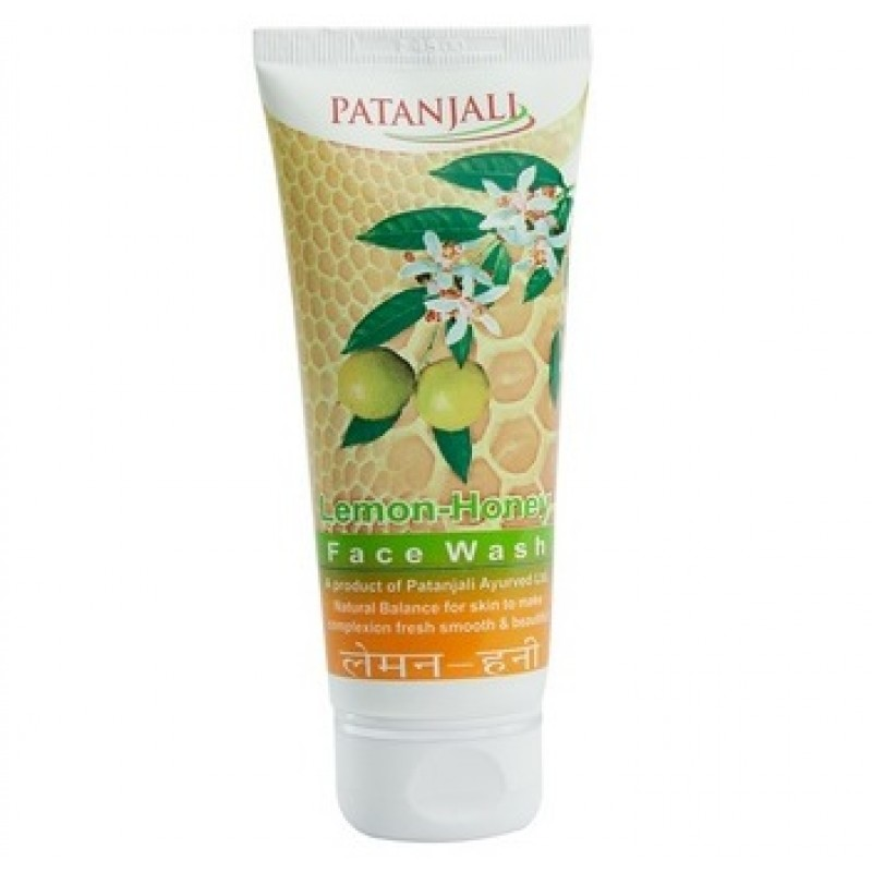 Facewash Patanjali Lemon Honey 60gm