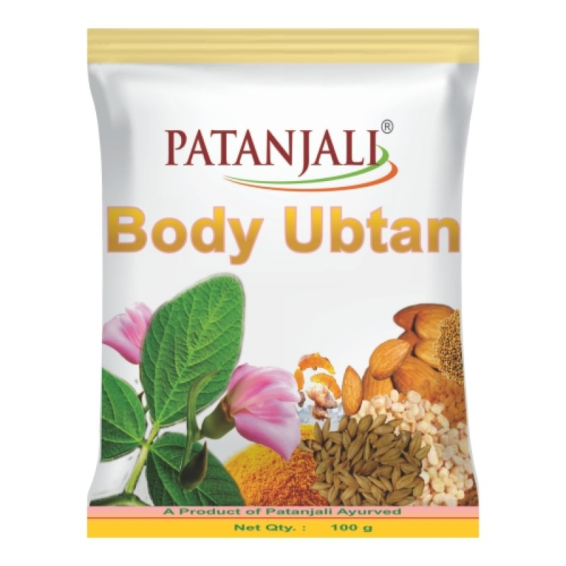 Body Ubtan Patanjali 100gm (Pack of 2)