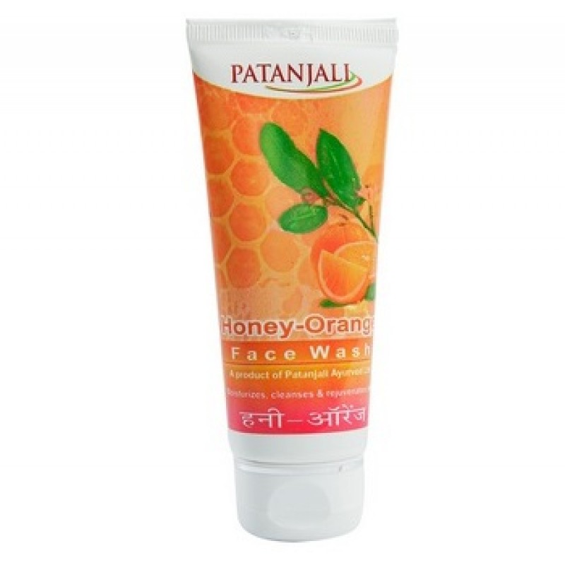 Facewash Patanjali Honey Orange 60gm