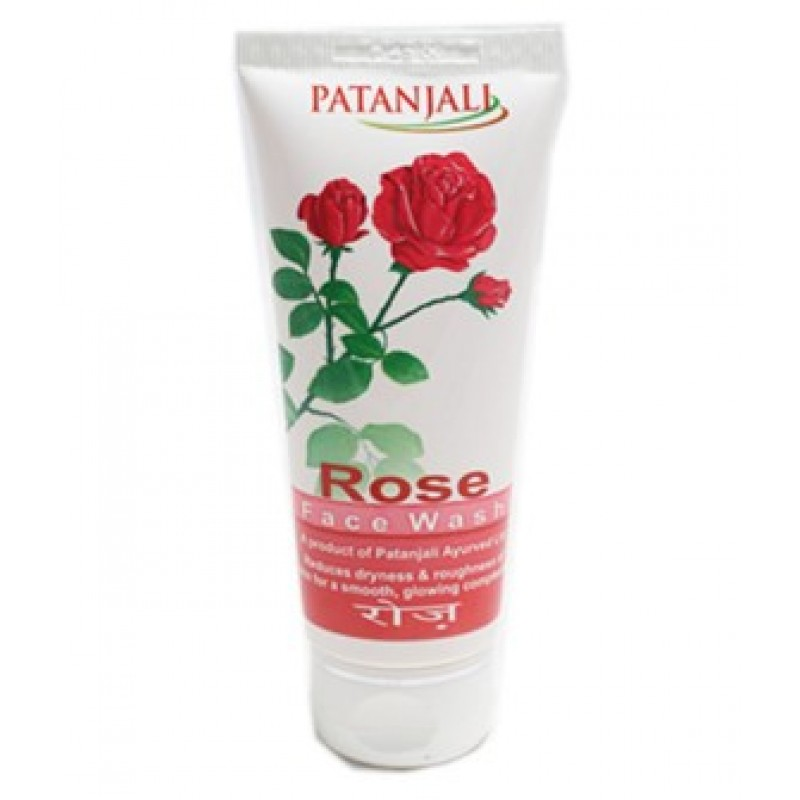 Facewash Patanjali Lemon Rose 60gm
