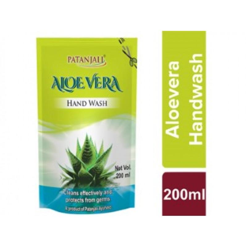 Hand Wash Aloevera Refil Patanjali 200ml (Pack of 2)