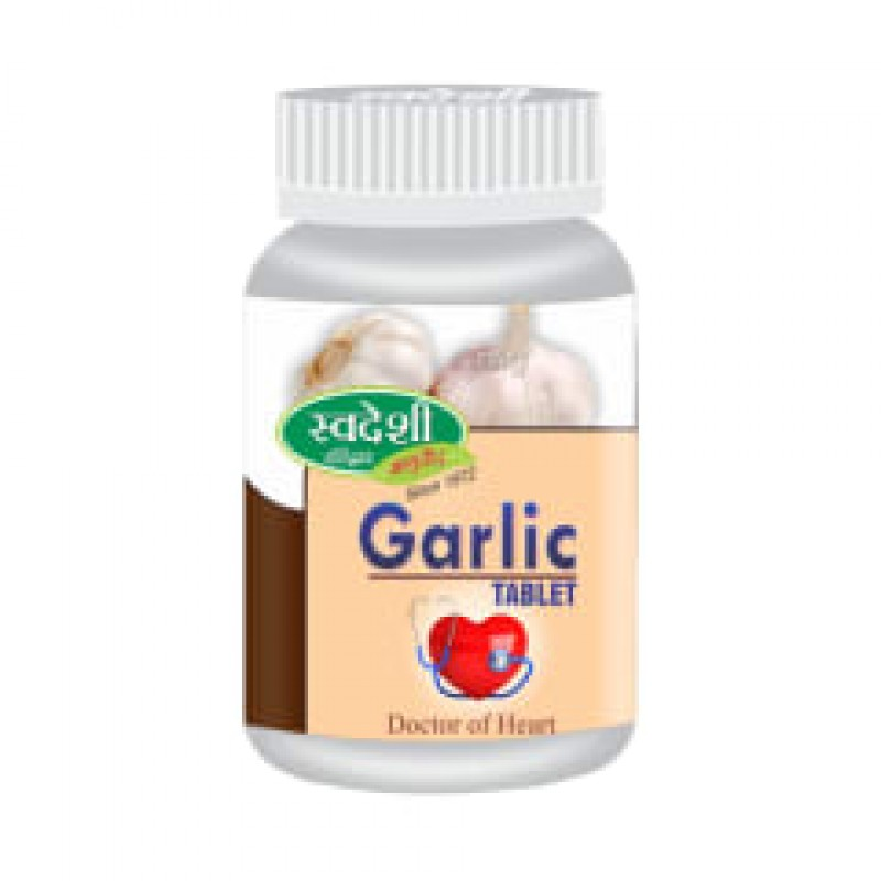 Garlic Tablets Swadeshi 120Tab