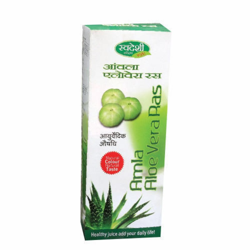 Amla Aloevera Juice Ras Swadeshi 500ml