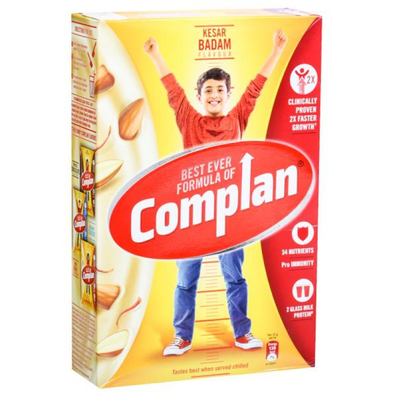 Complan Kesar Badam Zydus Wellness - Heinz 500gm